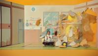 Японская Реклама - Карри быстрого приготовления Nissin Karemeshi