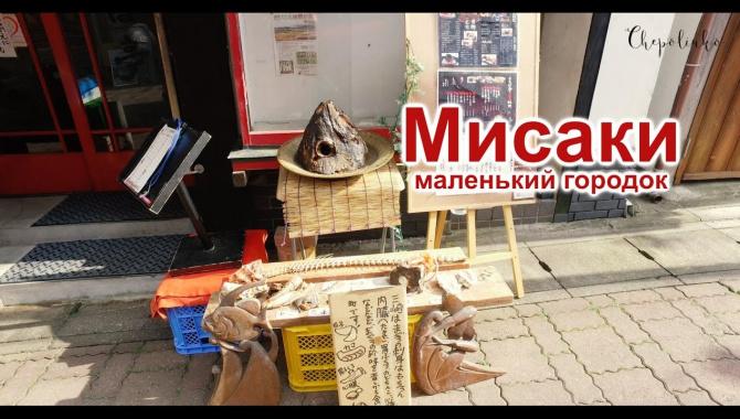 Прогулка по маленькому городу Мисаки на полуострове Миура (Видео)