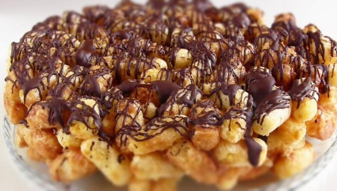 ТОРТ за 15 минут из кукурузных палочек - Видео-рецепт