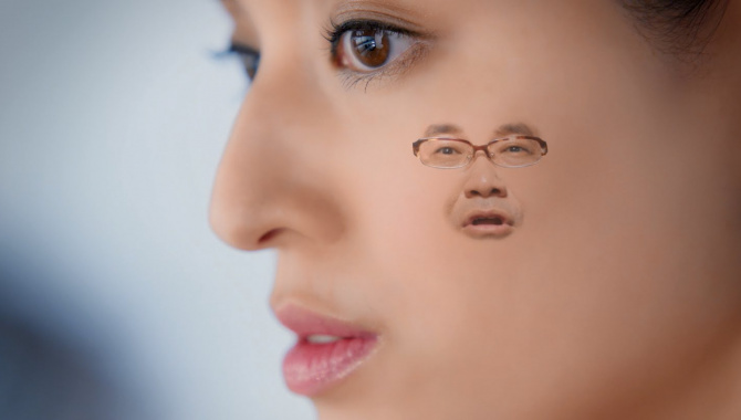 Японская Реклама - Йогурт Morinaga Aloesthe