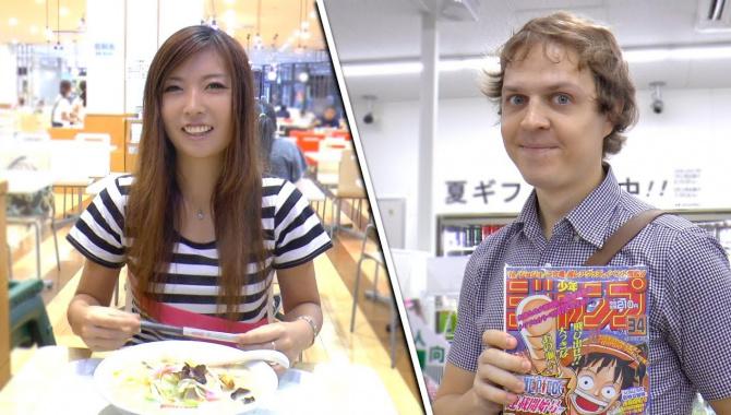 Гуляем по району Токио. Ретро манга, Пропущенный Фестиваль и Культура еды в Японии (Видео)