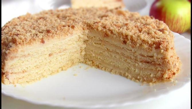 Яблочный торт Нежный - Видео-рецепт