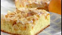 Персиковый пирог - Видео-рецепт