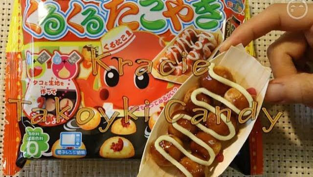 Японские вкусняшки. Такояки из порошка. Kuru Kuru Takoyaki (Видео)
