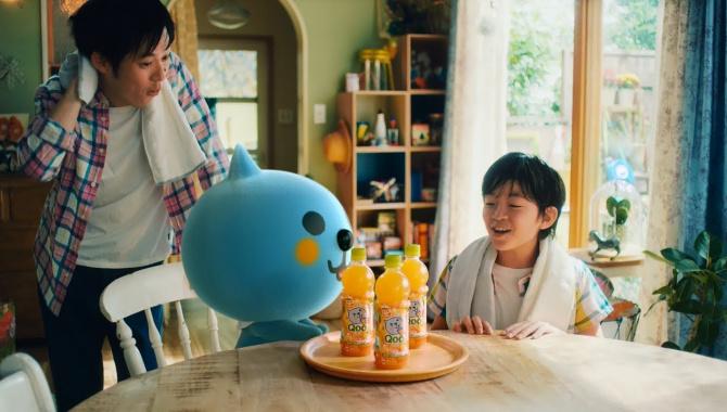 Японская реклама - MINUTE MAID QOO