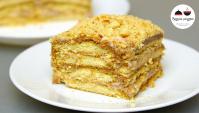 Торт Ленивый без выпечки - Видео-рецепт