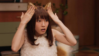 Японская Реклама - NISSIN - Donbee CUP Noodle - Kitsune Udon