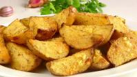 Вкусная Картошка в духовке дольками с корочкой - Видео-рецепт