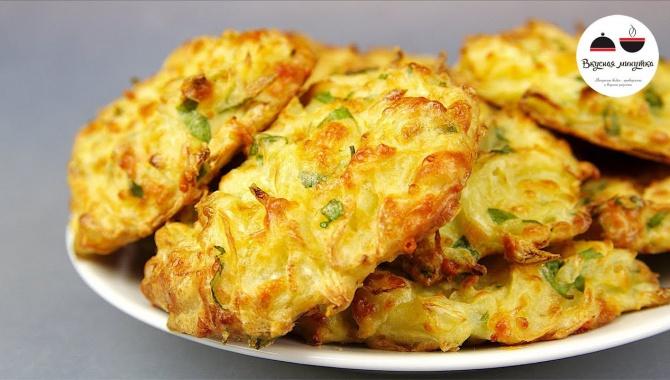Оладушки из капусты - Видео-рецепт