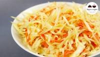 Салат из капусты как в столовой - Видео-рецепт