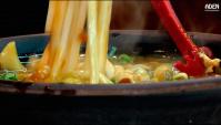 Приготовление лапши с карри и говядиной (Осака) - Видео