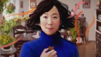 Японская Реклама - Шоколадные конфеты Lotte Charlotte