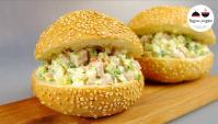 Салат закуска за 10 минут - Видео-рецепт