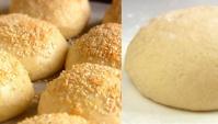 Тесто без дрожжей на сметане/Пирожки с капустой - Видео-рецепт