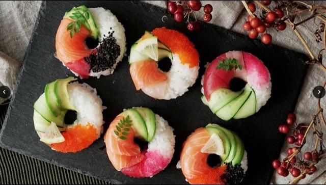 Суши-пончики - Видео