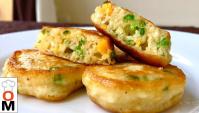 Закусочные Оладьи с Зеленым Луком и Яйцом - Видео-рецепт