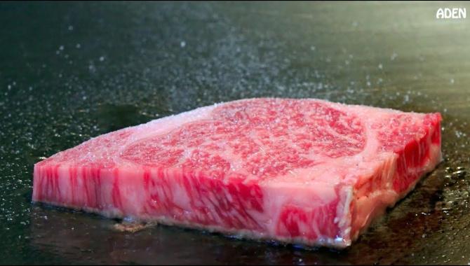 Приготовление мяса, овощей и морепродуктов на тэппане  - Видео