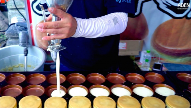 Уличная еда в Киото - 6 различных видов уличной еды (Видео)
