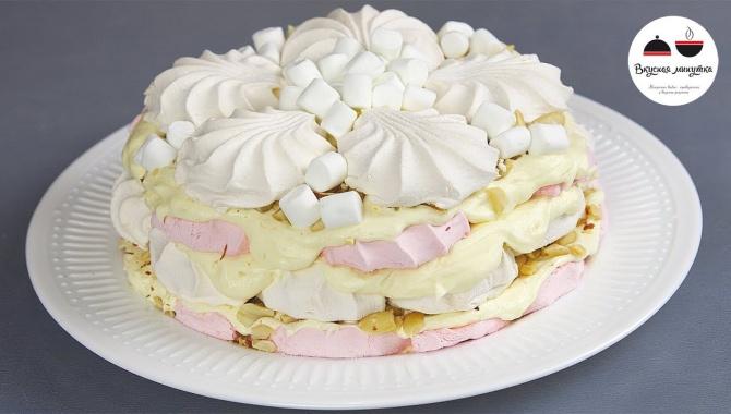 Торт без выпечки МАЛЬВИНА - Видео-рецепт