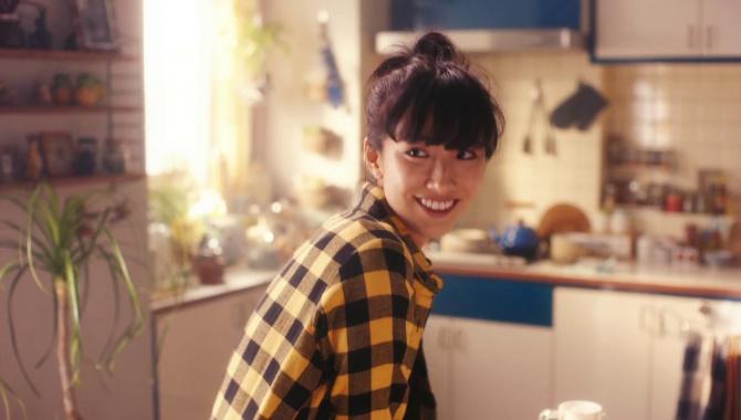 Японская Реклама - Батончик SOYJOY