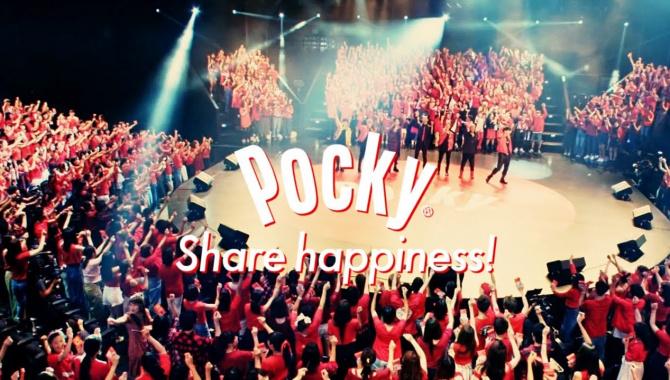 Японская Реклама - Сладкие палочки Pocky