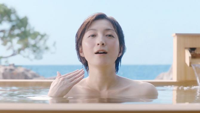 Японская Реклама - Напиток Suntory Non-aru-kibun