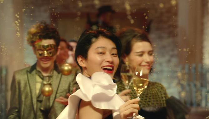 Японская Реклама - Вино Freixenet Cava
