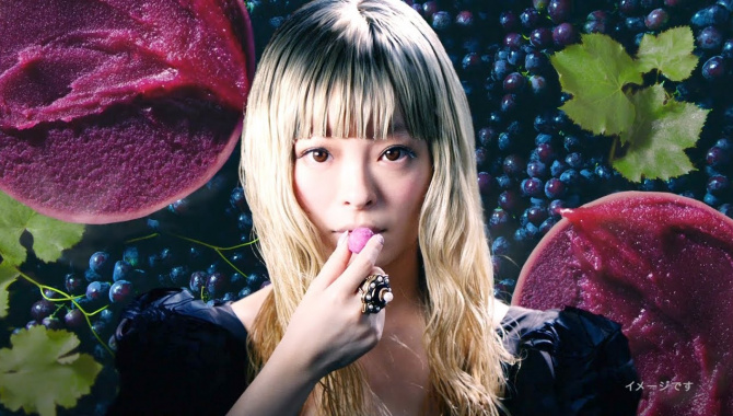 Японская Реклама - Конфеты Glico Ice no Mi - Kyary Pamyu Pamyu