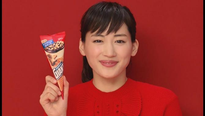 Японская Реклама - Мороженое Glico Giant