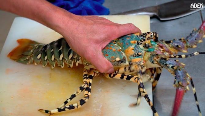 Радужный омар и другие морепродукты (Видео)