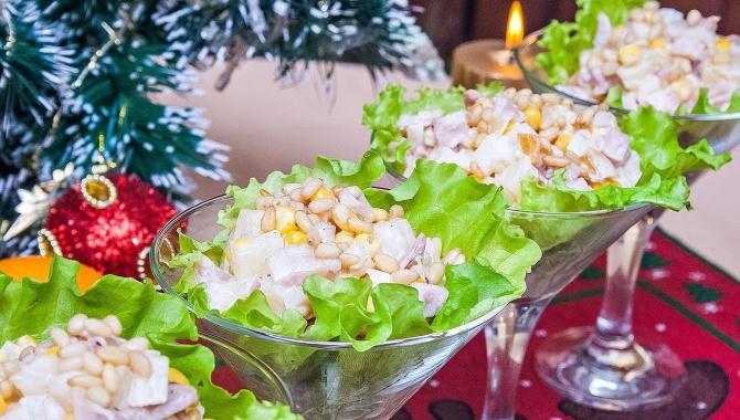 Салат на Новый Год - Буржуй - Видео-рецепт