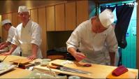 Шеф-повар Суши в Токио - Видео