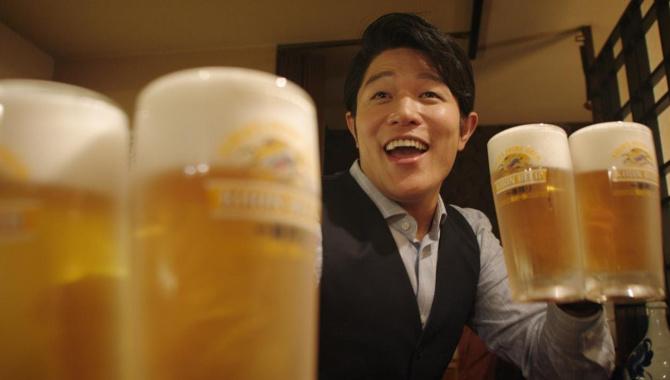 Японская Реклама - Пиво Kirin
