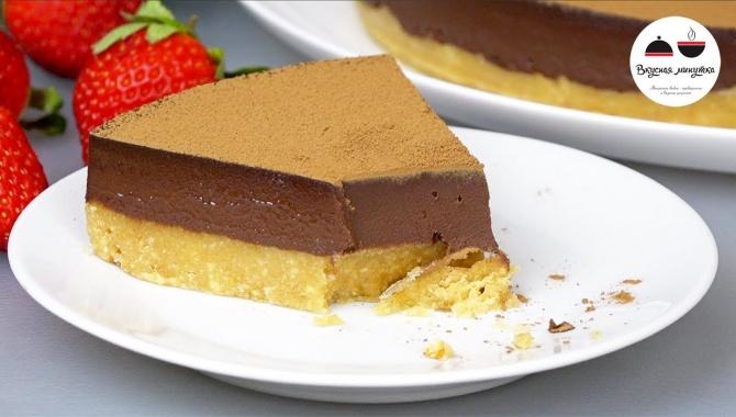 Шоколадный торт без выпечки - Видео-рецепт