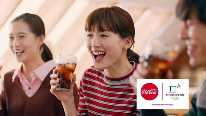 Японская Реклама - Напиток Coca-cola