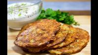 Хрустящие драники с сыром в духовке - Видео-рецепт