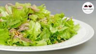 Салат с отварным мясом - Видео-рецепт