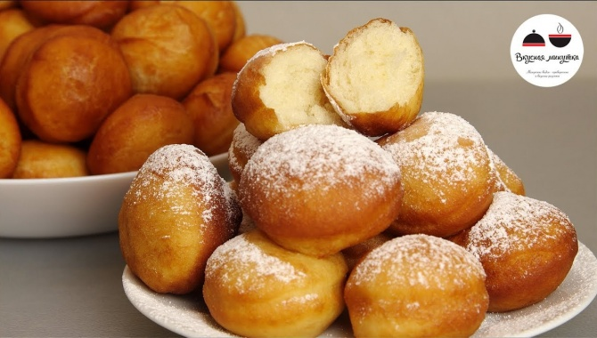 Самые вкусные пончики - Видео-рецепт