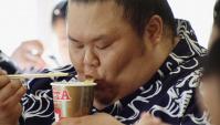 Японская Реклама - Лапша быстрого приготовления MARUCHAN QTTA.