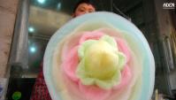 Оригинальная сладкая вата - Сычуань, Китай (Видео)