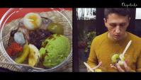 ЯПОНСКИЕ СЛАДОСТИ МОТИ (МОЧИ) - Настоящие японские сладости. Японская Еда (Видео)