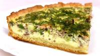 Пирог с сайрой - Видео-рецепт