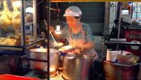 Китайский квартал в Бангкоке - Уличная еда в Тайланде (Видео)