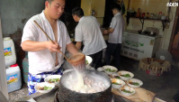 Острая Сычуаньская лапша в Китае - Видео