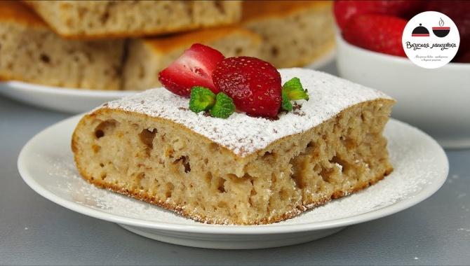 Простой пирог к чаю - Видео-рецепт