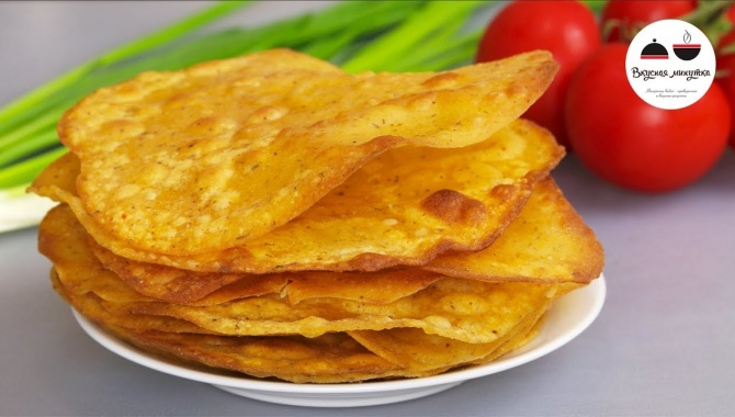 Лепешки-крекеры из кукурузной муки - Видео-рецепт