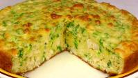 Вкусный Заливной Пирог - Видео-рецепт