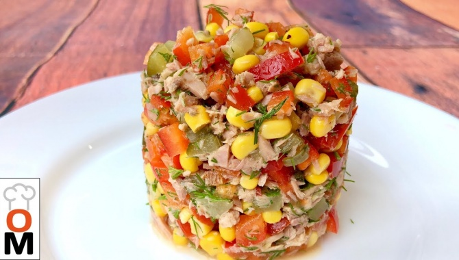 Салат с Тунцом - Видео-рецепт