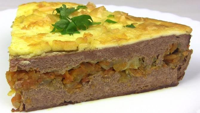 Печеночный Торт или Печень По-Царски - Видео-рецепт