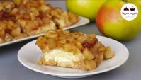 Творожно-яблочный десерт - Видео-рецепт